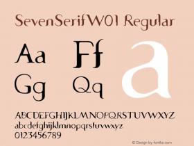 SevenSerifW01