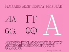 Nagaris Serif Display