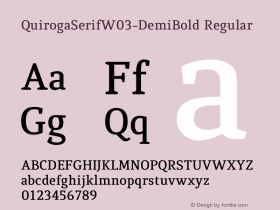 QuirogaSerifW03-DemiBold