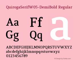 QuirogaSerifW05-DemiBold