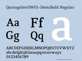 QuirogaSerifW01-DemiBold