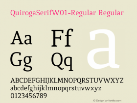QuirogaSerifW01-Regular