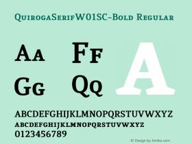 QuirogaSerifW01SC-Bold