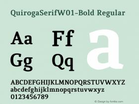 QuirogaSerifW01-Bold