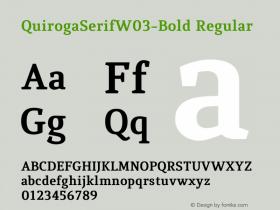 QuirogaSerifW03-Bold