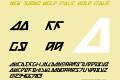 Nick Turbo Bold Italic
