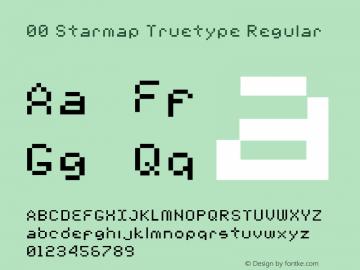 00 Starmap Truetype