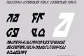 Nostromo Condensed Italic