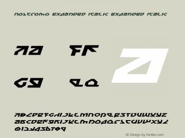 Nostromo Expanded Italic