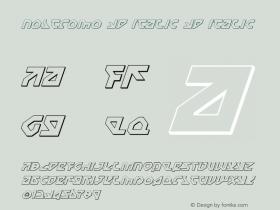 Nostromo 3D Italic