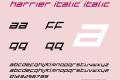 Harrier Italic
