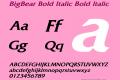 BigBear Bold Italic