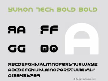 Yukon Tech Bold