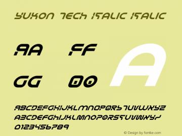 Yukon Tech Italic
