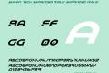 Yukon Tech Expanded Italic