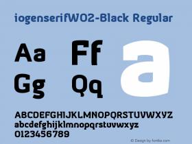 iogenserifW02-Black