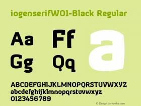 iogenserifW01-Black
