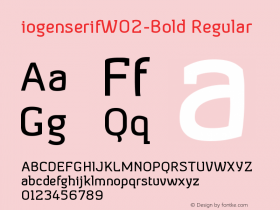 iogenserifW02-Bold