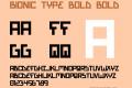 Bionic Type Bold