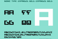 Bionic Type Expanded Bold