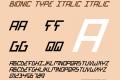 Bionic Type Italic