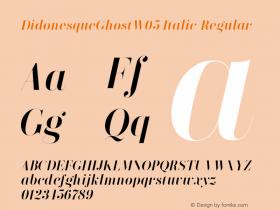 DidonesqueGhostW05-Italic