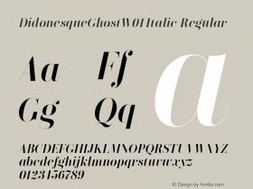 DidonesqueGhostW01-Italic