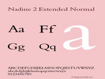 Nadine 2 Extended