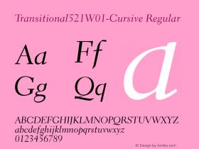 Transitional521W01-Cursive