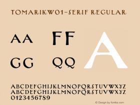 TomarikW01-Serif