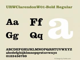 URWClarendonW01-Bold