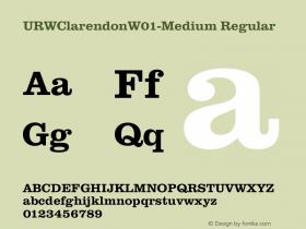 URWClarendonW01-Medium