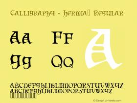 Calligraphy - Hermia™