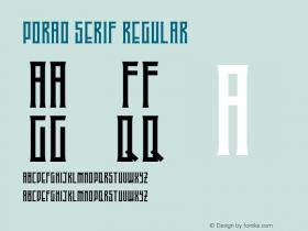 Porao Serif