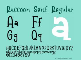 Raccoon Serif