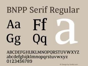 BNPP Serif