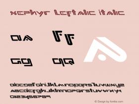 Xephyr Leftalic