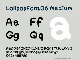 LolipopFont05