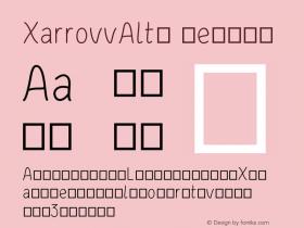 XarrovvAlt4