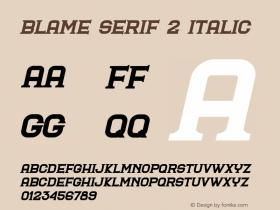 Blame Serif 2