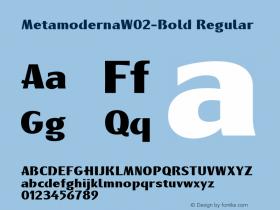 MetamodernaW02-Bold