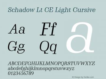 Schadow Lt CE