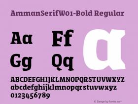 AmmanSerifW01-Bold