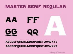 Master Serif