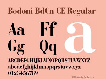 Bodoni BdCn CE