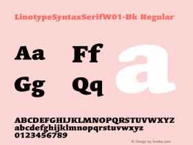 LinotypeSyntaxSerifW01-Bk