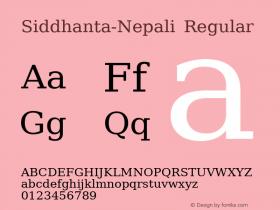 Siddhanta-Nepali