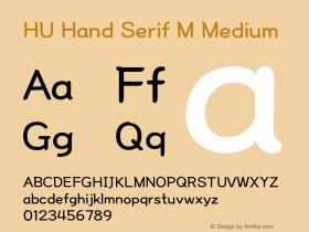 HU Hand Serif M