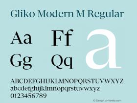 Gliko Modern M
