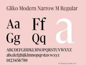 Gliko Modern Narrow M